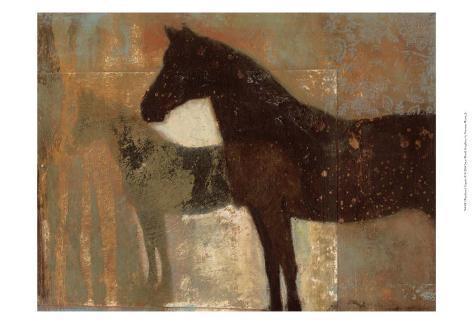 Weathered Equine II Art Print
