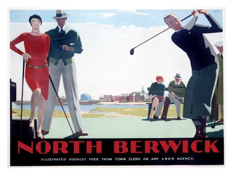 North Berwick Giclee Print
