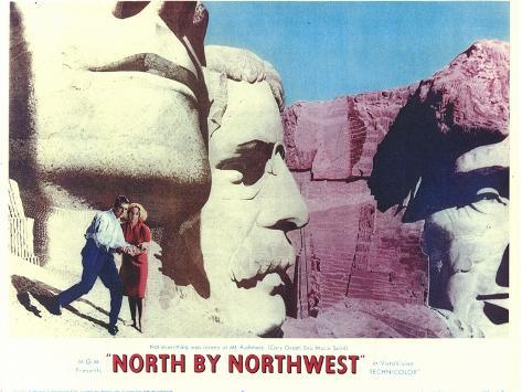North By Northwest, 1959 Premium Giclee Print