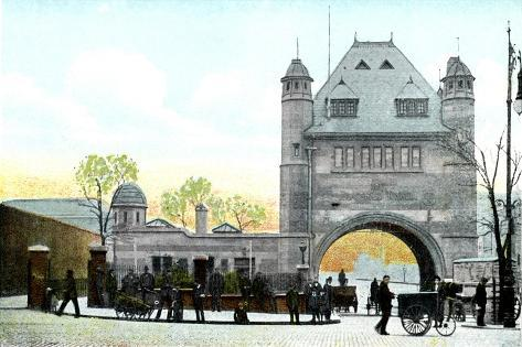 North Entrance, Blackwall Tunnel, London, 20th Century Giclee Print