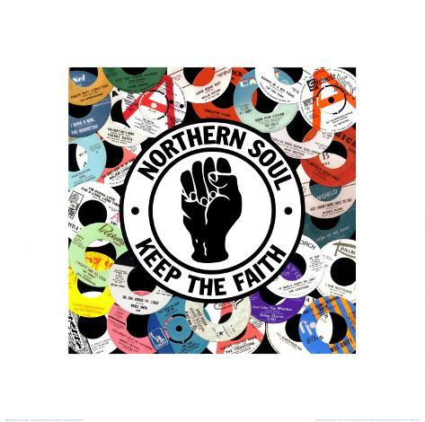 Northern Soul アートプリント