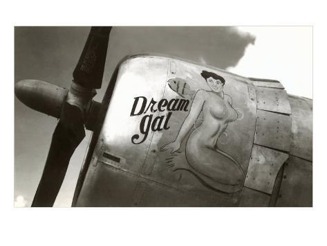 Nose Art, Dream Gal Pin-Up Art Print