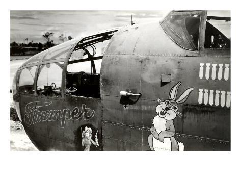Nose Art, Thumper Art Print