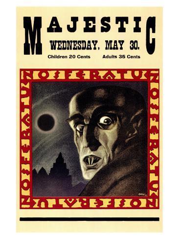 Nosferatu, a Symphony of Horror, 1922 Art Print