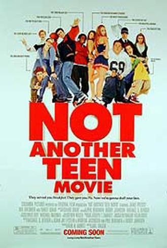 Not Another Teen Movie Original Poster