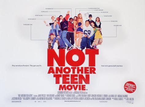 Not Another Teen Movie Original Poster