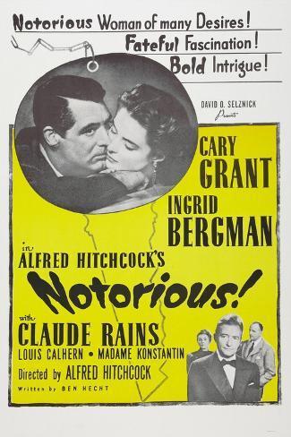 Notorious, 1946 Art Print