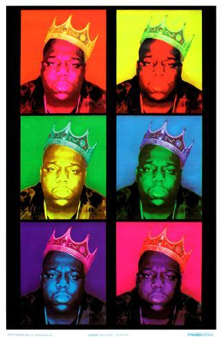 Notorious BIG - Pop Art King Blacklight Poster