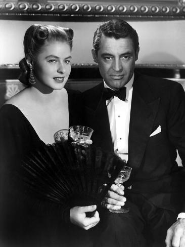 Notorious, Ingrid Bergman, Cary Grant, 1946 写真