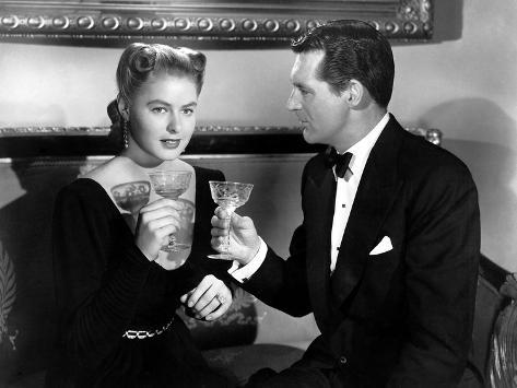 Notorious, Ingrid Bergman, Cary Grant, 1946 Photo