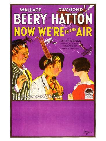 Now We're in the Air, 1927 Konstprint