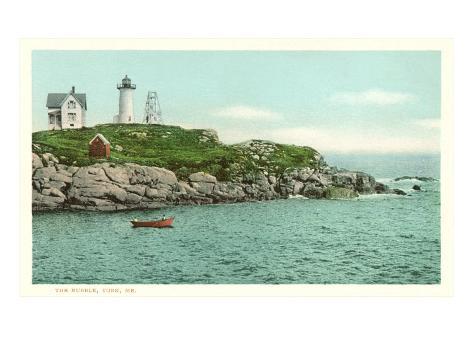 Nubble Lighthouse, York, Maine Art Print