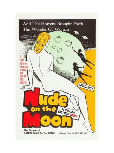 Nude On the Moon, 1961 Photo