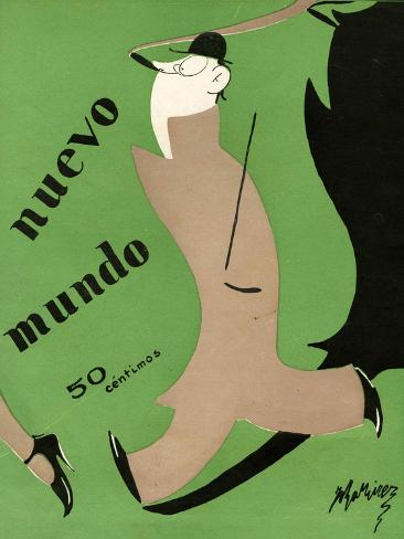 Nuevo Mundo, Magazine Cover, Spain, 1927 Giclee Print