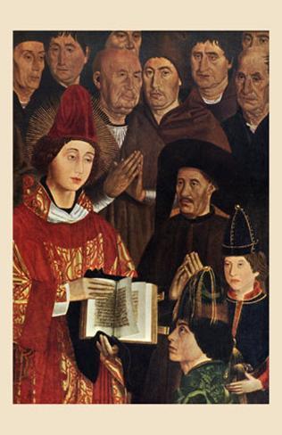 Adoration de St. Vincent Lámina