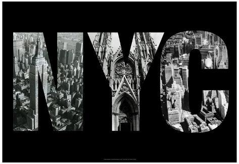 NYC New York City Images Archival Photo Poster