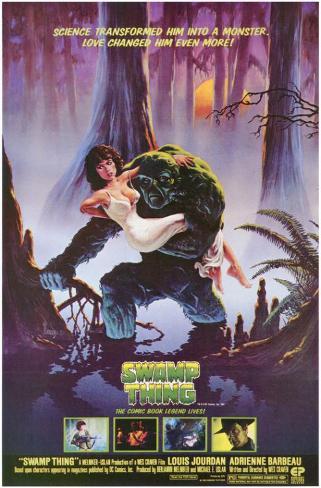 O Monstro do Pântano Impressão original