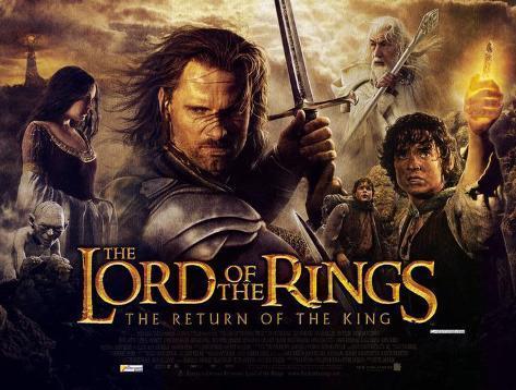 O Senhor dos Anéis: O Retorno do Rei Impressão original