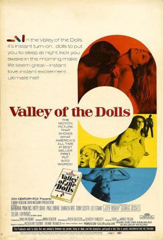 O Vale das Bonecas Impressão original