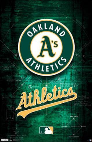 Oakland Athletics Logo Poster