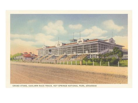 Oaklawn Racetrack, Hot Springs, Arkansas Art Print