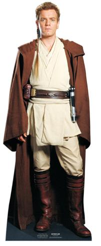 Obi Wan Kenobi (Ewan McGregor) Cardboard Cutouts