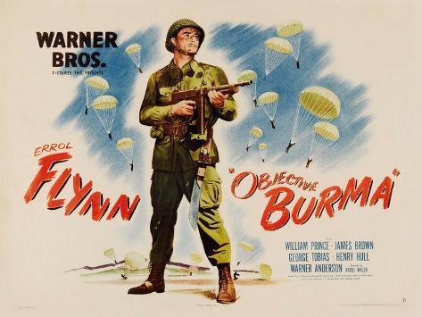 Objective, Burma!, 1945 Art Print