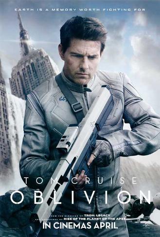 Oblivion (Tom Cruise, Morgan Freeman, Andera Riseborough) Movie Poster Masterprint