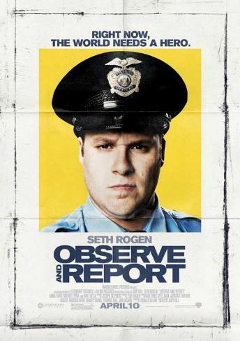 Observe And Report Masterprint