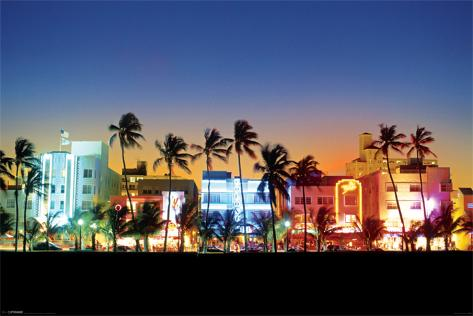 Ocean Drive-Miami Poster
