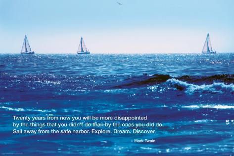 Ocean-Good Day For Sailing Poster