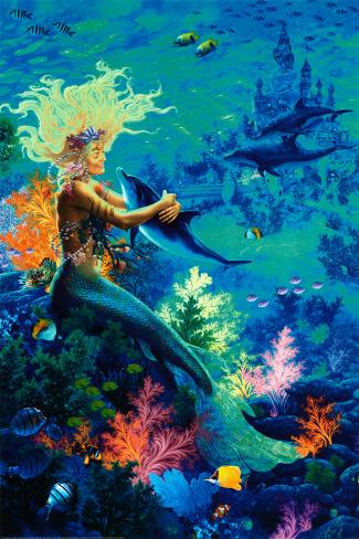 Ocean Hug Póster