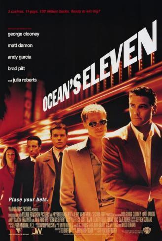 Ocean's Eleven Stampa master