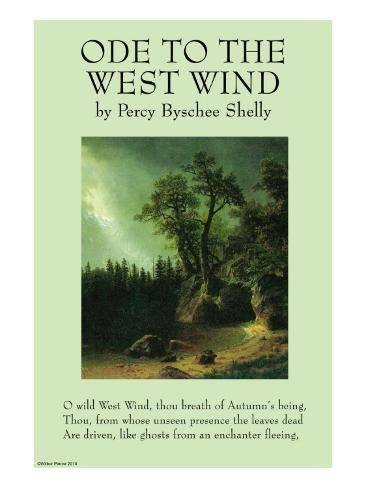 ode to the west wind essay Mcgee lectures shelley's west wind mcgee lectures shelley's west wind skip navigation sign in  ode to the west wind by shelley, percy bysshe (ch_01).