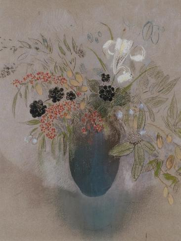 Flowers in a Vase Giclee Print