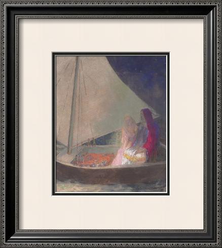 The Barque, c.1902 Impressão artística emoldurada