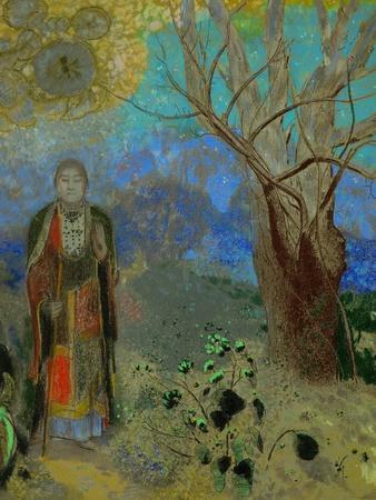 The Buddha 1906 1907 Giclee Print By Odilon Redon At