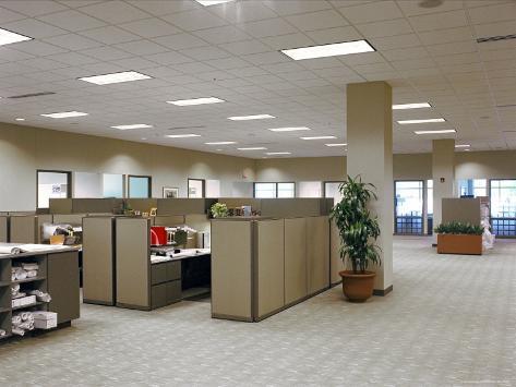Office Interior Photographic Print