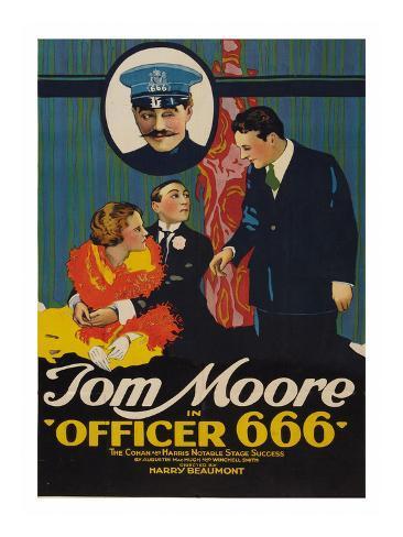 Officer 666 Art Print