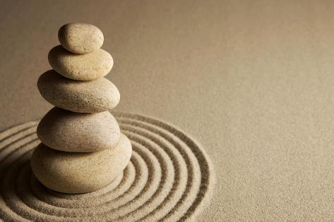 Balancing Stones Photographic Print