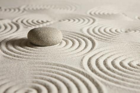 Zen Stone Photographic Print