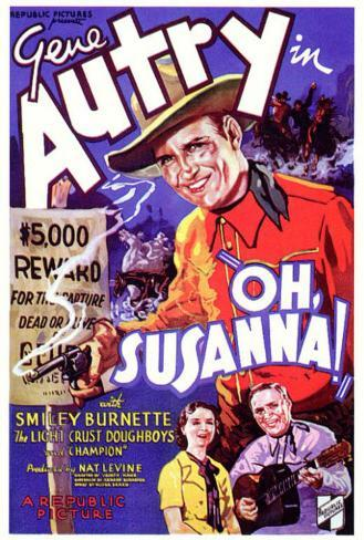 Oh, Susanna! Poster