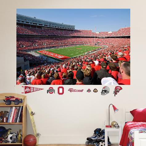 ... Ohio State Wall Murals Ohio State The Horseshoe Stadium Mural Wall Mural  At Allposters Com ... Part 57