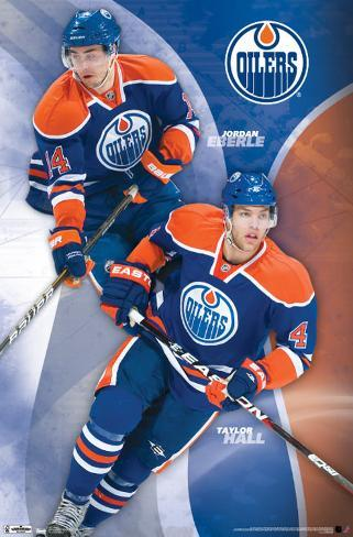 Oilers - Collage 2011 Poster