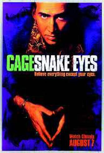 Ojos de serpiente Póster original