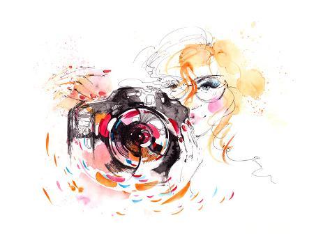 Photographer Premium Giclee Print