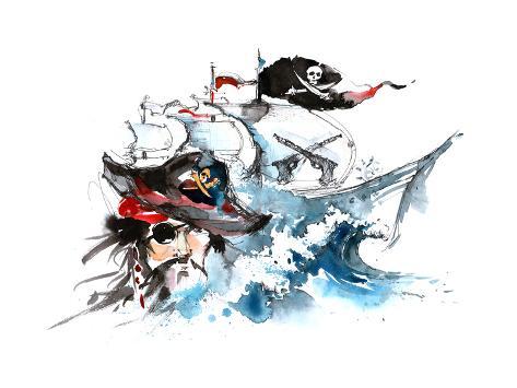 Pirates Premium Giclee Print