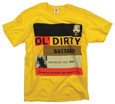Ol Dirty Bastard - Blue Note T-Shirt