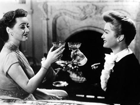 Old Acquaintance, Bette Davis, Miriam Hopkins, 1943 Photo