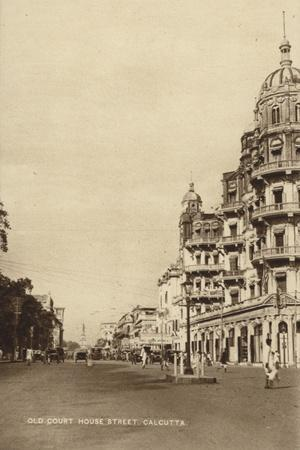 Old Court House Street Calcutta Photographic Print Allposters Com
